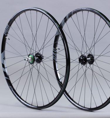 Paire de roue 29 aluminium Alu Boost