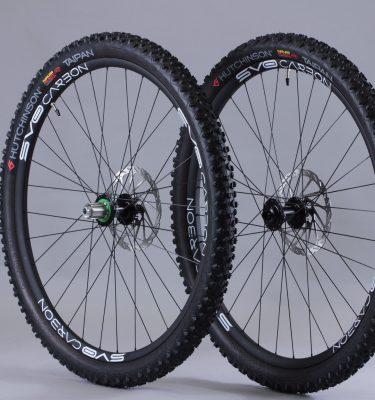 Paire roues 29 carbone avec pneus Boost
